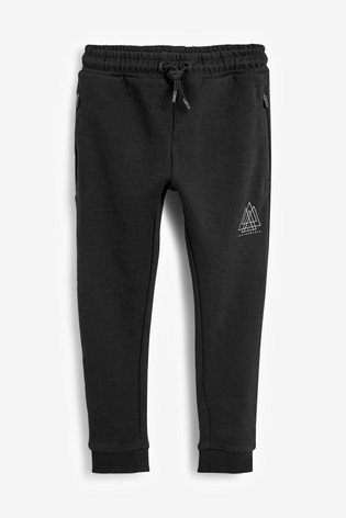Black Sporty Joggers (3-16yrs)