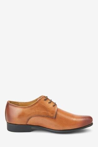 Tan Leather Formal Shoes (Older)