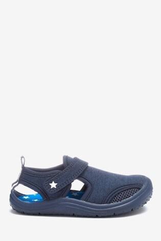Blue Star Beach Sock Shoes