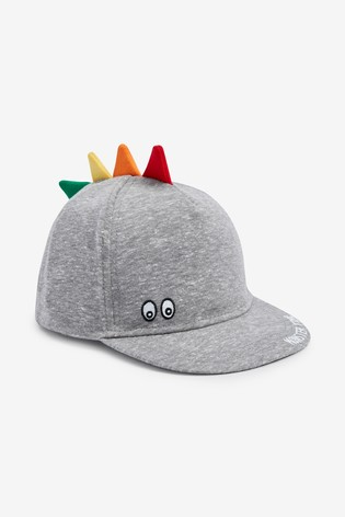 Grey Dino Cap (Younger)