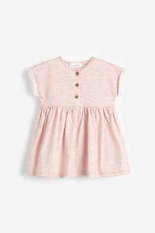 Pink Jersey Dress (0mths-2yrs)