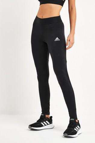 adidas Black Must Have 3 Stripe Leggings