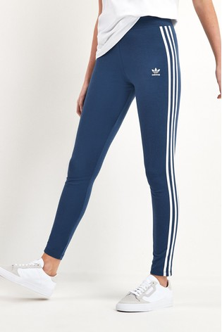 adidas Originals Mid Rise 3 Stripe Leggings