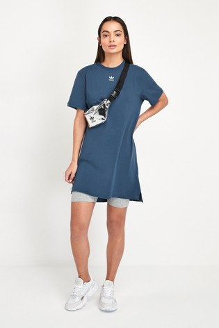 adidas Originals Navy Trefoil Dress
