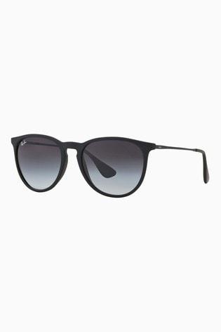 Ray-Ban® Black Matte Erika Sunglasses