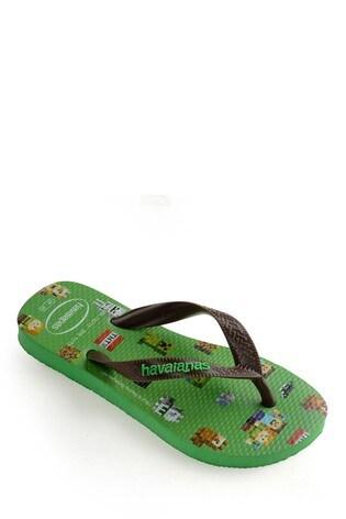 Havaianas® Kids Minecraft Flip Flops