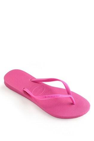 Havaianas® Kids Shocking Pink Slim Flip Flops