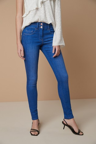 Bright Blue Lift, Slim And Shape Skinny Jeans