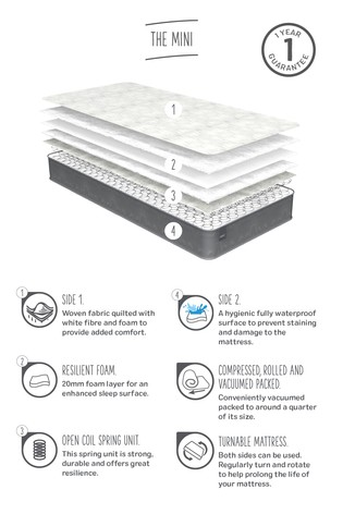 The Mini Kids Medium Mattress