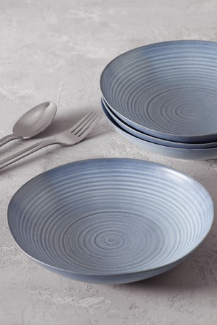 Kya Reactive Set of 4 Pasta Bowls