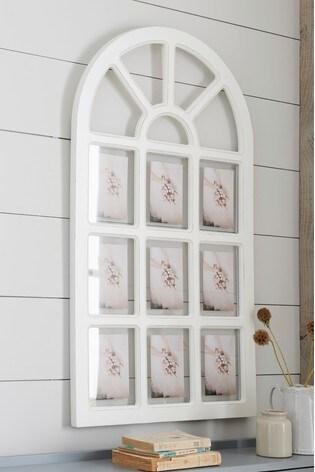 Vintage Effect Wood Multi Aperture Arch Frame