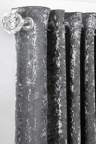 Chrome Extendable Venetian 35mm Curtain Pole Kit