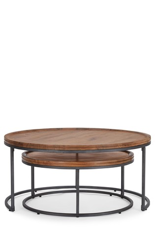 Amsterdam Nest Of 2 Coffee Tables