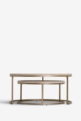 Amsterdam Light Coffee Table Nest