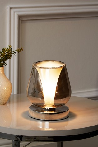 buy cooper small touch lamp from the next uk online shop. Black Bedroom Furniture Sets. Home Design Ideas