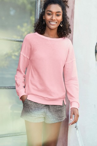 26700966c38998 Buy Fluro Pink Tie Back Sweatshirt from Next Hong Kong