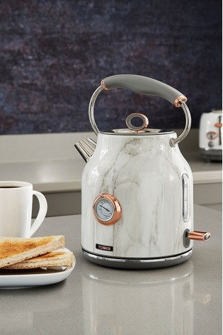 Marble Effect Kettle by Tower