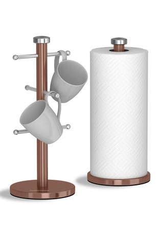 Mug Tree And Towel Holder Set by Morphy Richards