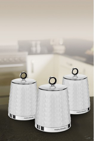 Set of 3 Dimensions Storage Jars by Morphy Richards