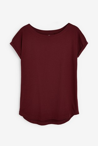 Berry Cap Sleeve T-Shirt