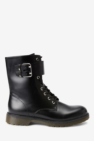 Black Forever Comfort® Rubber Sole Boots