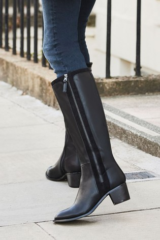 Black Forever Comfort® Long Boots