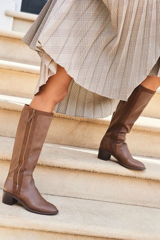 Chocolate Forever Comfort® Long Boots