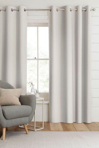 Aria Linen Natural Made To Measure Curtains