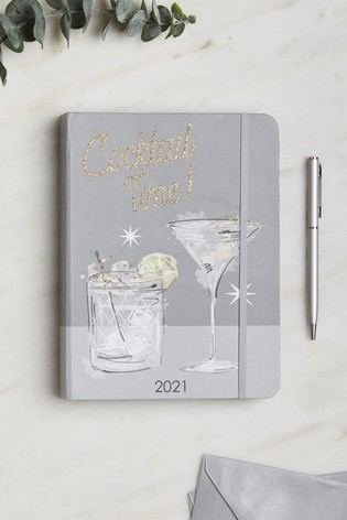 Cocktail Time Organiser Diary