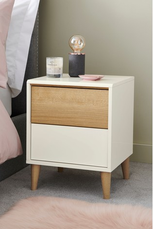 Louis 2 Drawer Bedside Table