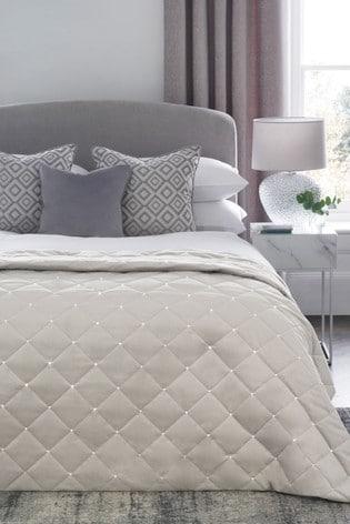 Harper Gem Velvet Bedspread
