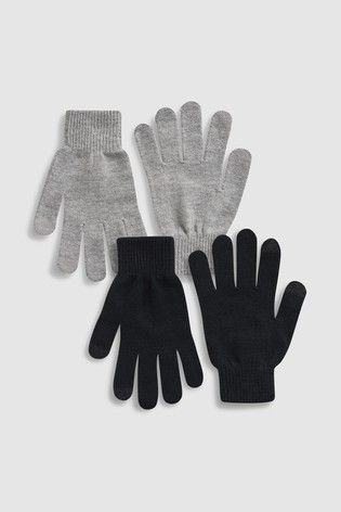 Black/Grey Magic Gloves Two Pack