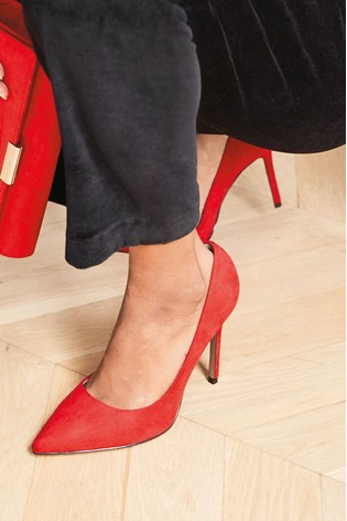 Red Forever Comfort® Point Court Shoes