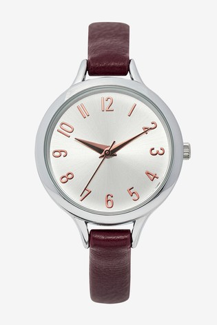 Berry Simple Strap Watch