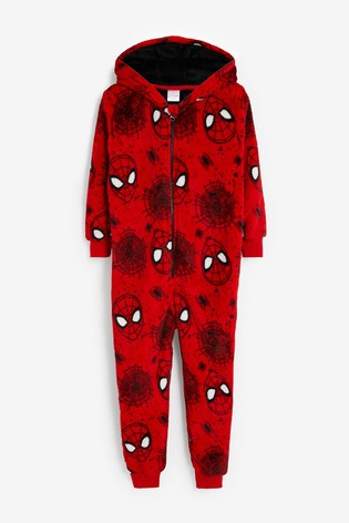 Red Spider-Man™ Fleece All-in-one (9mths-12yrs)