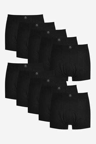 Black Essential Hipsters Ten Pack