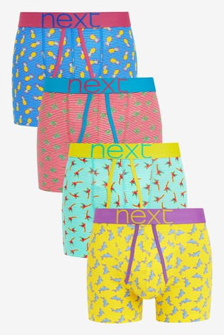 Multi Conversational Print A-Fronts Four Pack