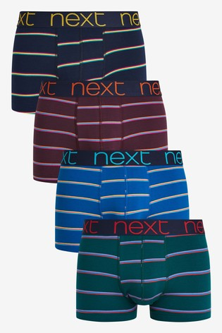 Neon Stripe Hipsters Four Pack