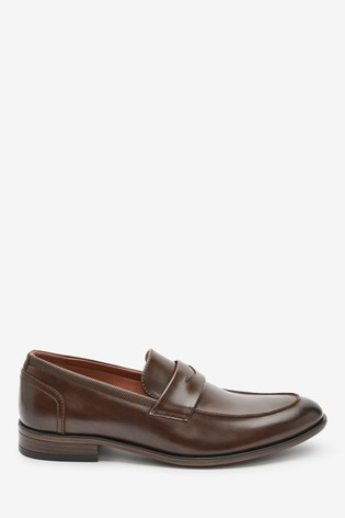 Brown Saddle Loafers