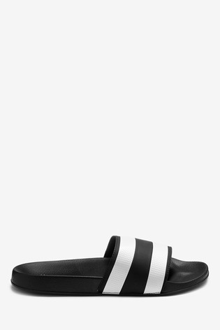Black Stripe Sliders