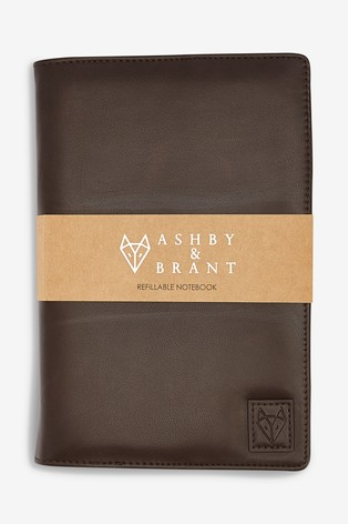 Brown Ashby & Brant A5 Notebook