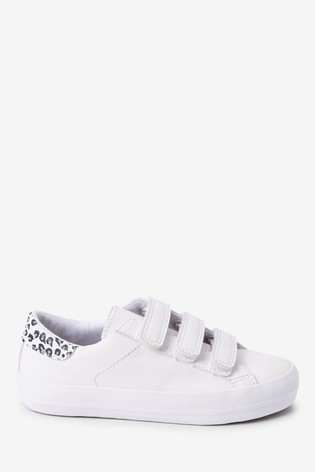 White Touch Fastening Trainers (Older)