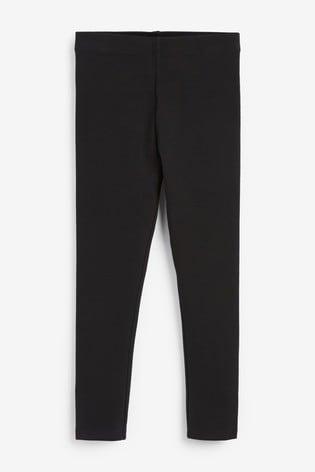 Black Cosy Leggings (3-16yrs)