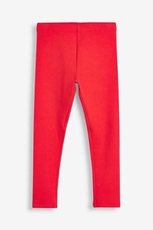 Red Cosy Leggings (3-16yrs)