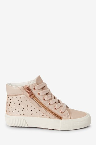 Blush Star High Top Trainers (Older)