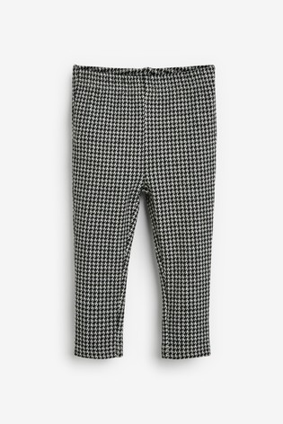 Monochrome Dogtooth Leggings (3mths-7yrs)