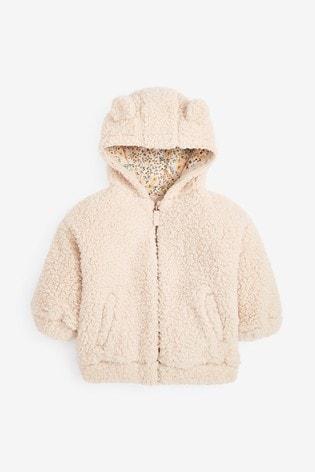 Cream Fleece Hoodie (3mths-7yrs)