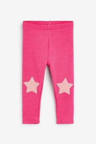 Bright Pink Cosy Leggings (3mths-7yrs)