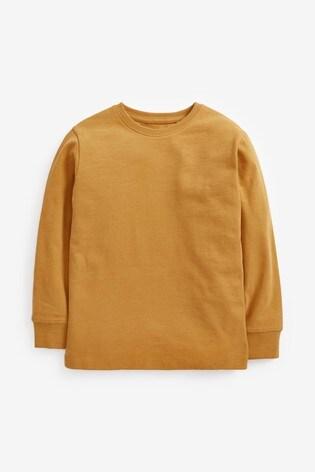 Ochre Long Sleeve Cosy T-Shirt (3-16yrs)