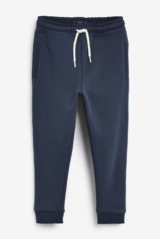 Navy Super Sueded Joggers (3-16yrs)